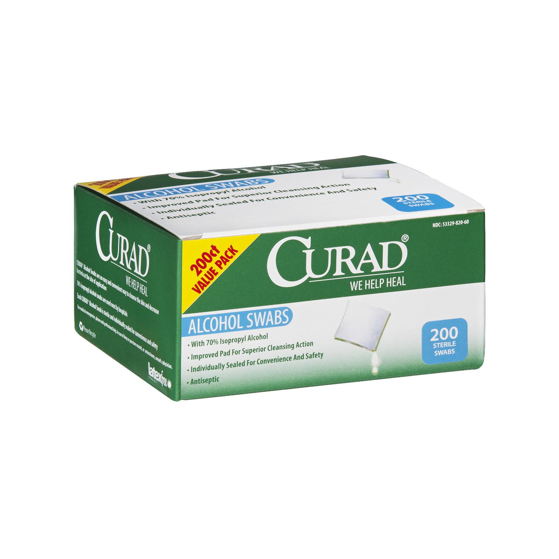 Curad Alcohol Swabs Sterile - 200 CT200.0 CT