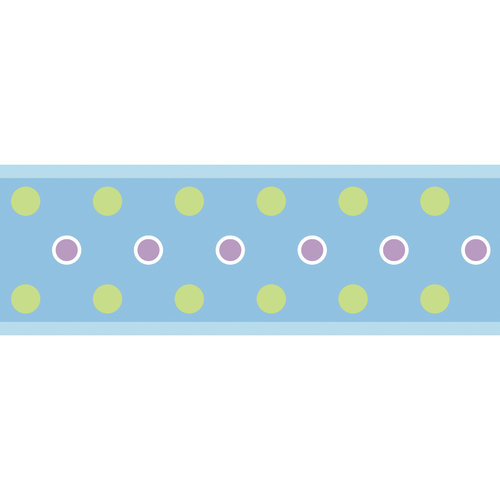 Dot Peel and Stick Border