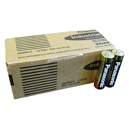 "Panasonic LR6XWAC Alkaline ""aa"" Cell 24 Piece Box Of Batteries"