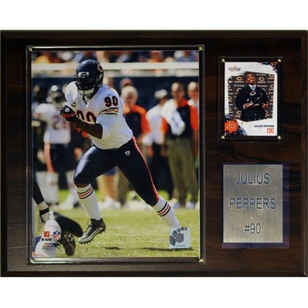 C & I Collectables 1215PEPPERS NFL Chicago Bears Player Plaque - image 1 of 1