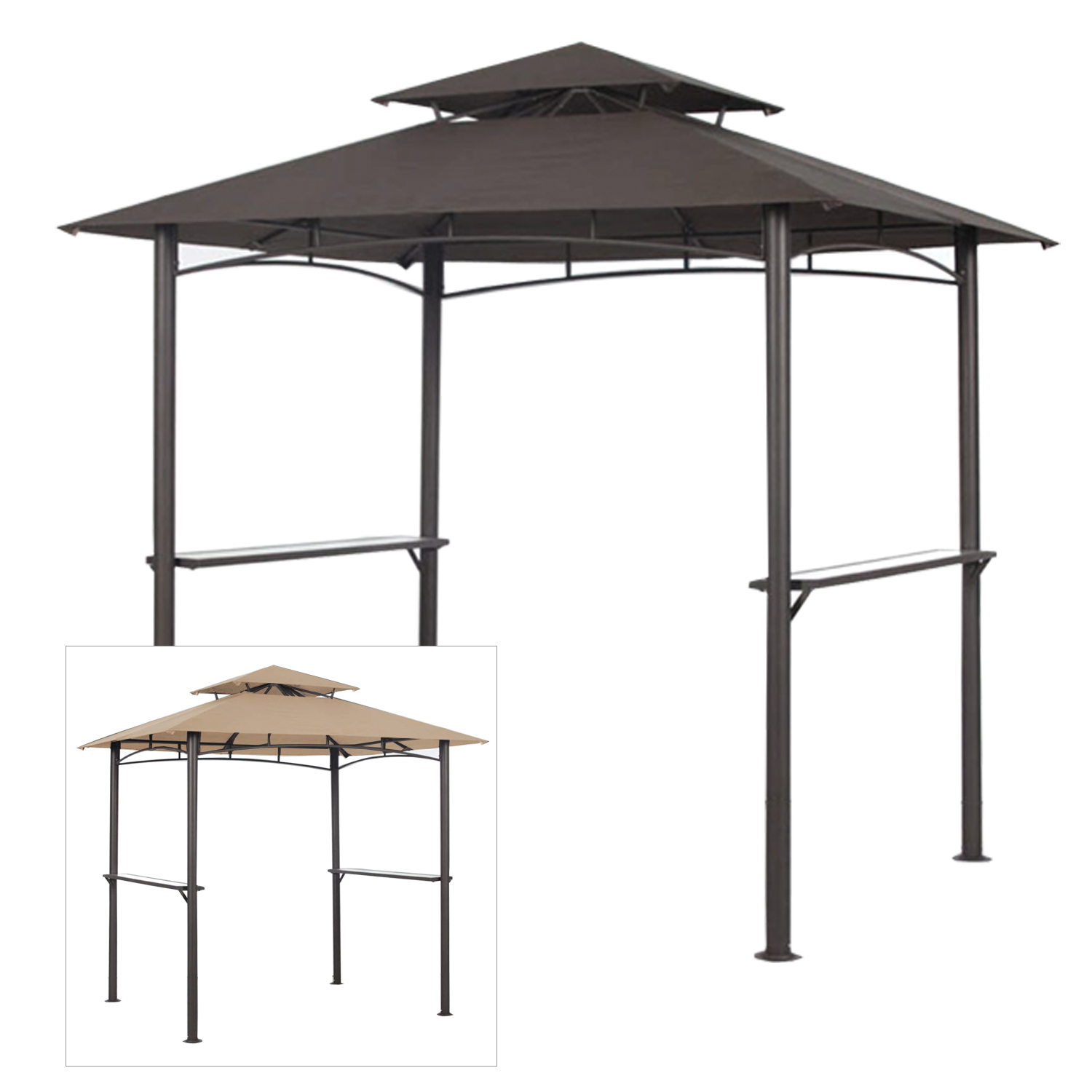 Garden Winds Replacement Canopy Top for Pacific Casual BB...