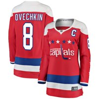 Alexander Ovechkin Washington Capitals Fanatics Branded Women's Alternate Breakaway Player Jersey - Red