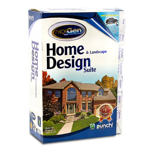 Punch Software Home And Landscape Design Suite Windows Xp Vista Windows 7 Walmart Com Walmart Com