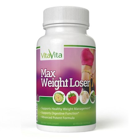 Trim Healthy Weight Formula (Max Weight Loser, Powerful Combinantion Formula Supports Healthy Weight Management (60 Veggie Capsules))