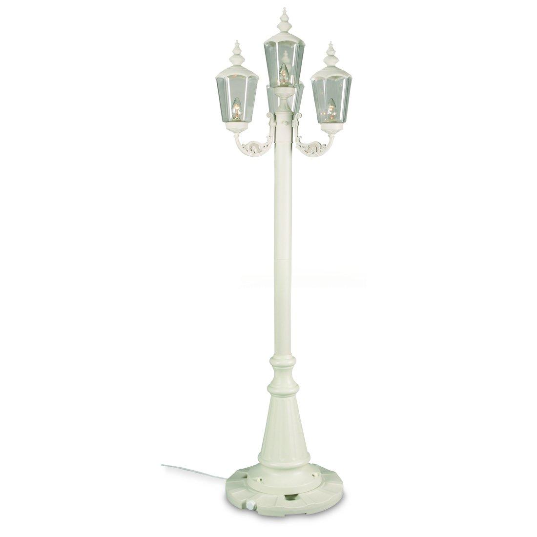 Patio Living Concepts Cambridge 00441 85 Inch Four Lantern Patio Lamp - Park Style