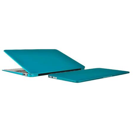 Incipio Feather Ultralight Hard Shell Case for MacBook Air 11 inch - Matte Iridescent Teal