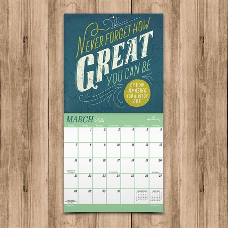2021 A Year of Good Thoughts Mini Calendar - image 2 of 6