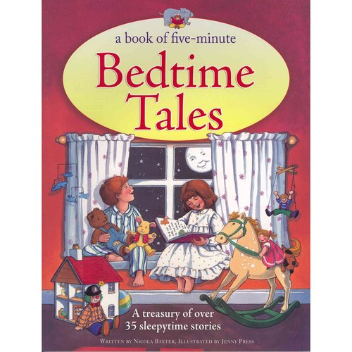 A Book of Five-Minute Bedtime Tales: A Treasury of over 35 Sleepytime Stories