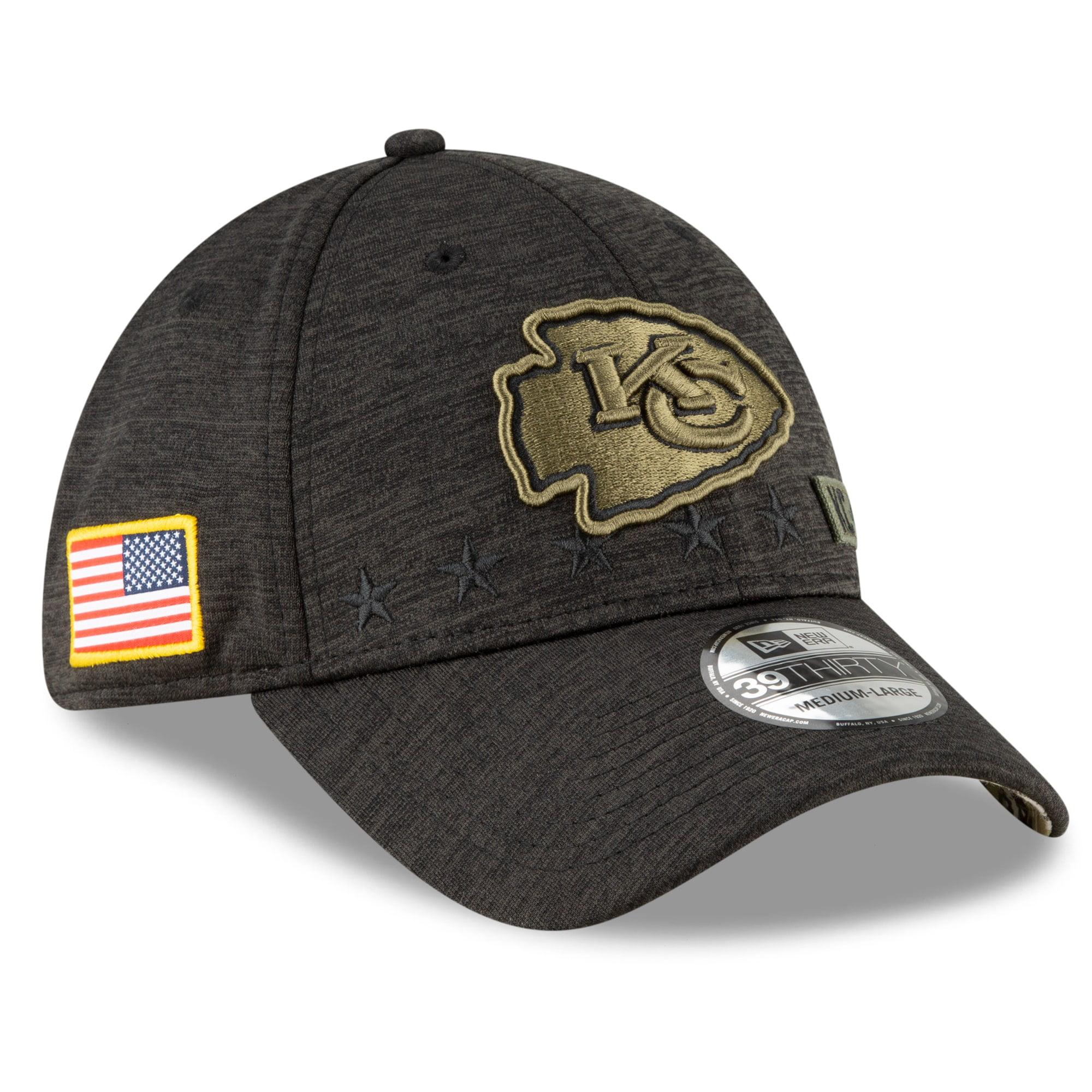 New Era Kansas City Chiefs 39thirty Adjustable Cap Shadow Tech
