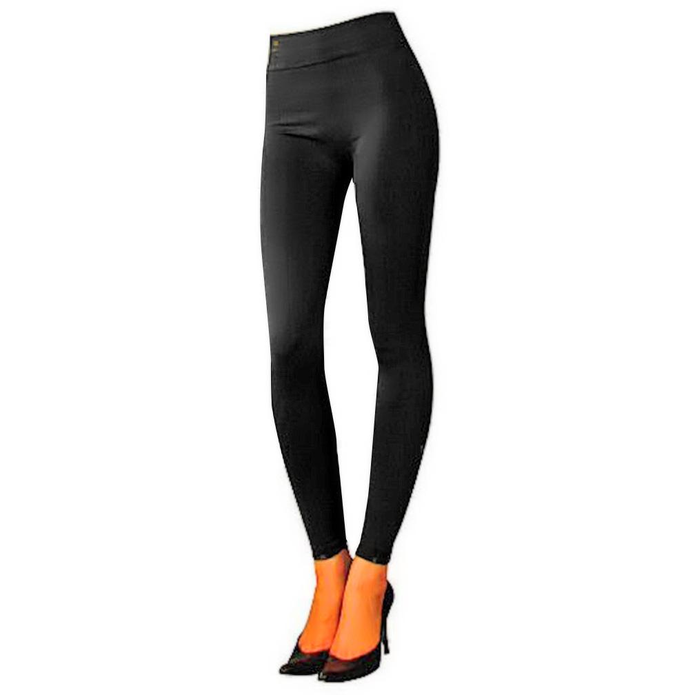 Luxury Divas Plus Size Fleece Lined Stretch Tights - Walmart.com