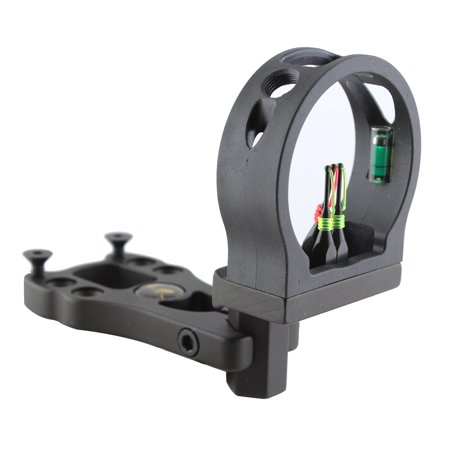 New 3 Pin Bow Sight - Fiber, Brass Pin, Aluminum Machined - Right and Left (Best 5 Pin Bow Sight 2019)