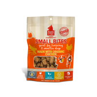 Plato Pet Treats Small Bites Organic Chicken Grain-Free Dog Treats, 2.5 Ounce