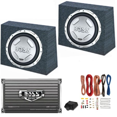 2) BOSS AUDIO CX122 12