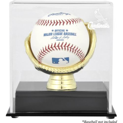 St. Louis Cardinals Gold Glove Single Baseball Logo Display Case