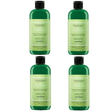 - Genuine Rainbow Fresh Air Freshener / Deodorizer - 4 Bottle Special