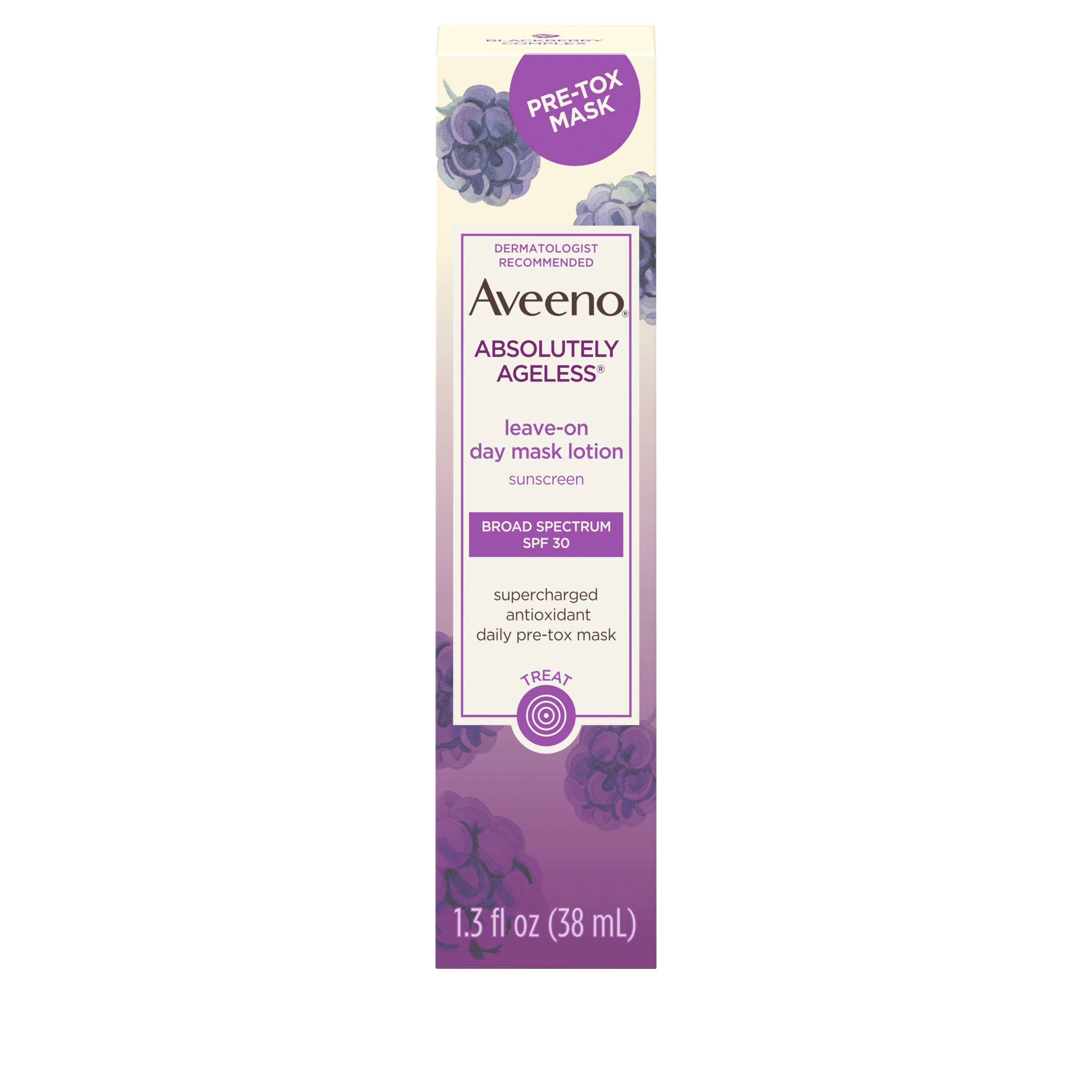 Aveeno Absolutely Ageless Leave-on Face Lotion with SPF 30, 1.3 fl. oz