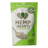 Manitoba Harvest Organic Hemp Hearts Raw Shelled Hemp Seeds, 7 Oz, 2 Pack
