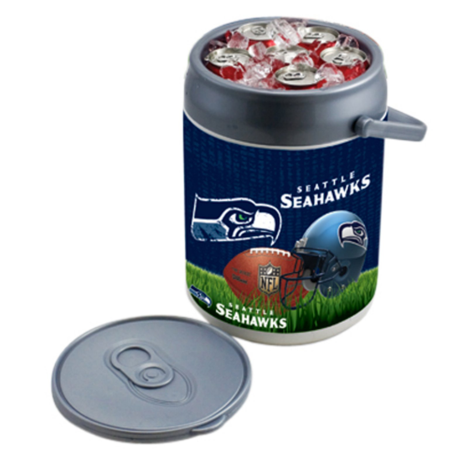 Picnic Time Can Cooler, Seattle Seahawks Digital Print