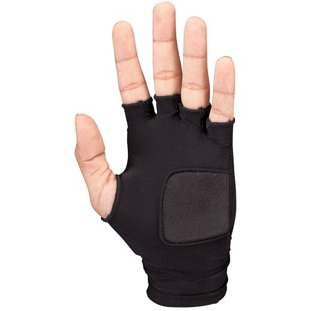 Batting Glove Liner, Its finger-less design allows for proper feel and bat control while the thin, 3mm palm pad cushions without feeling added bulk. By Cage Gauntlet from - Hand Batting Pad