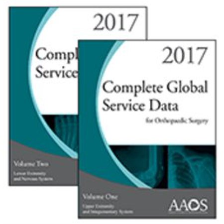 Complete Global Service Data For Orthopaedic Surgery 2017