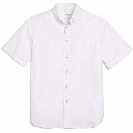 Rag & Bone White Standard Issue Short Sleeve Shirt