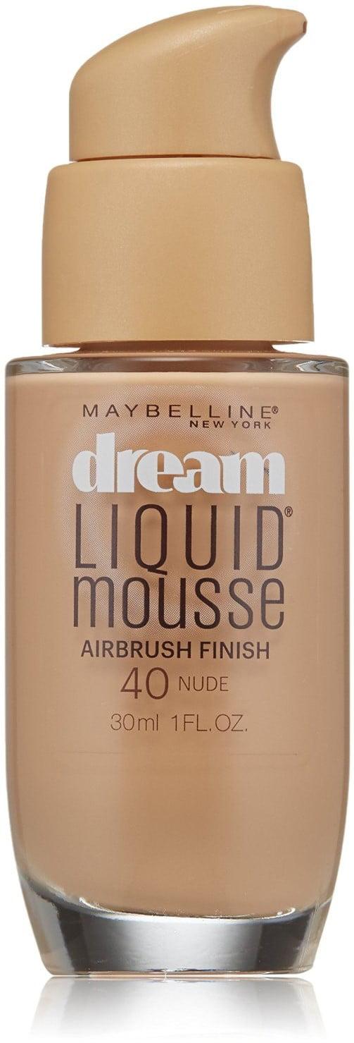 Maybelline Dream liquid Mousse Light Nude Foundation 4 30
