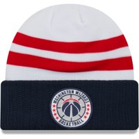 Washington Wizards New Era 2018 Tip Off Series Cuffed Knit Hat - White - OSFA