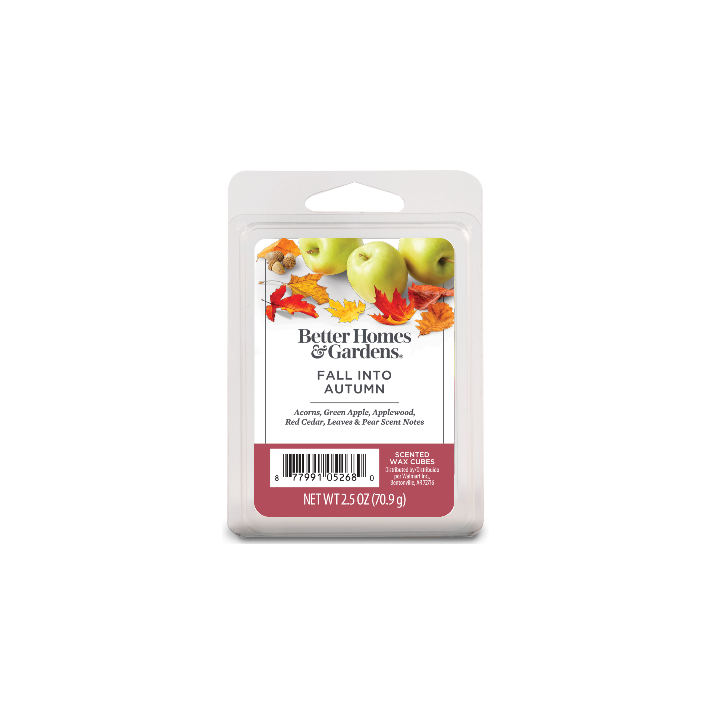 Fall Into Autumn Scented Wax Melts, Better Homes & Gardens, 20.20 oz ...