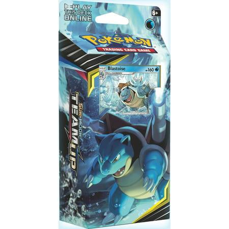 Pokemon Team Up Torrential Cannon Theme Deck [Blastoise] (Halloween Themed Pokemon Team)