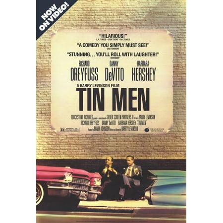 Tin Men Poster Movie B  27X40