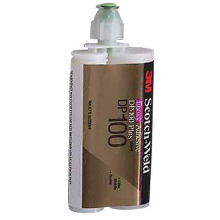 Epoxy Adhesive, Dual-Cartridge, 6.76 oz., Clear, 20 min.,PK12 3M DP100 (Clear Adhesive)