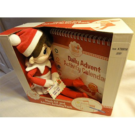 Elf on the Shelf Plush Elf and Advent Activity Pack -