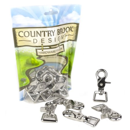 Country Brook Design® 3/4 Inch Trigger Swivel Snap Hooks