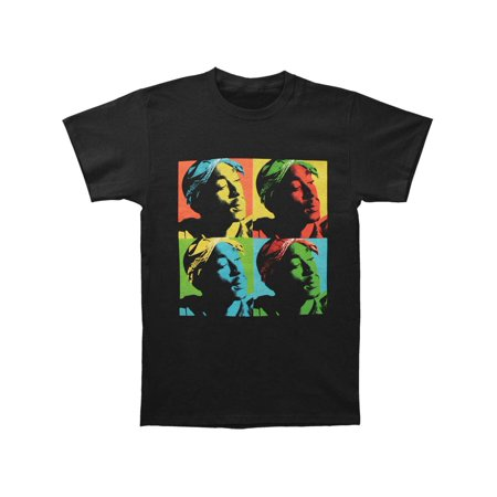 Mens Tunic Shirts (Tupac Men's  Pop Art T-shirt Black )