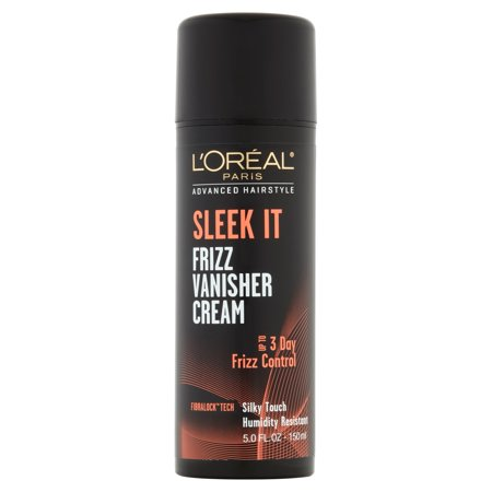 L'Oreal Paris Advanced Hairstyle SLEEK IT Frizz Vanisher Cream, 5 Fl