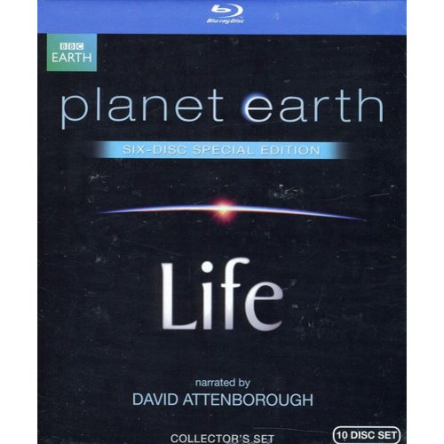 Life (Narrated By David Attenborough) / Planet Earth (Blu-ray) (Widescreen)