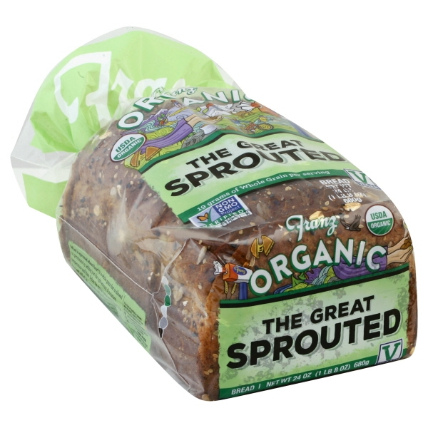 United States Bakery Franz Organic Bread, 24 oz