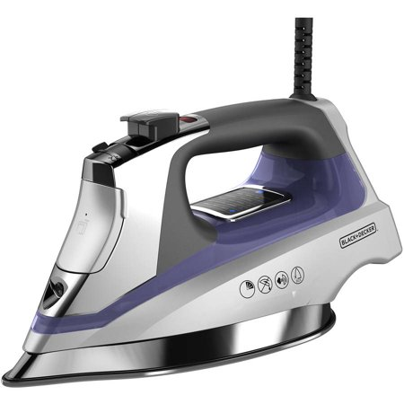 Black Decker Allure Digital Iron With Stainless Soleplate  D3040