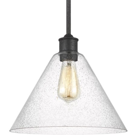"Sea Gull Lighting 6227801 Morill Single Light 12"" Wide Pendant"