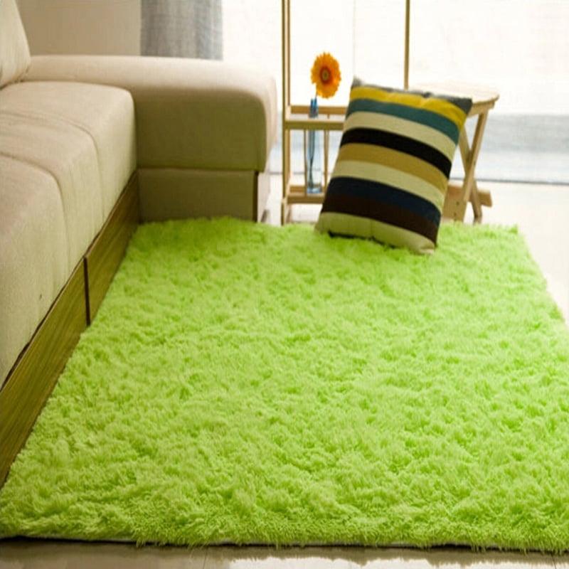 Cotton Carpet Living Room Dining Bedroom Area Rugs Anti: 48x32 Inch Anti-Skid Shaggy Area Floor Rug Bedroom Living