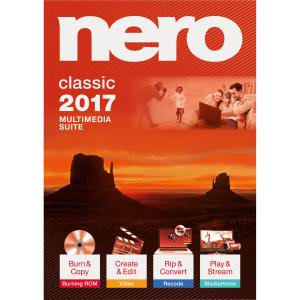 Nero 2017 Classic   Cd Dvd Burning   Pc   Bilingual Burn Rip Convert