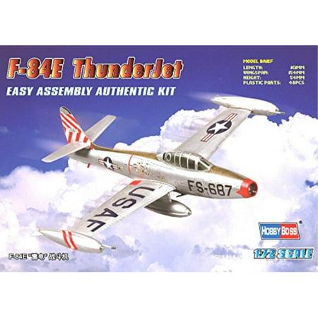 Hobby Boss F-84E Thunderjet Easy Assembly Kit Airplane Model Building -