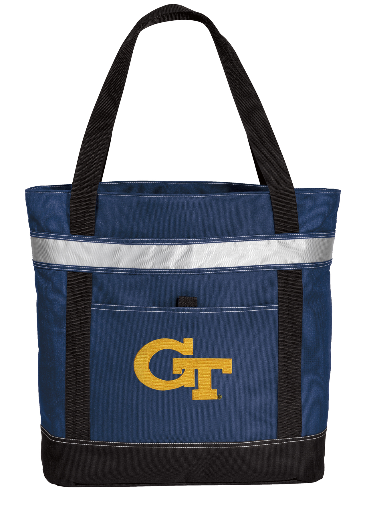 Insulated Georgia Tech Shopping Bag Large Georgia Tech Cooler Bags by