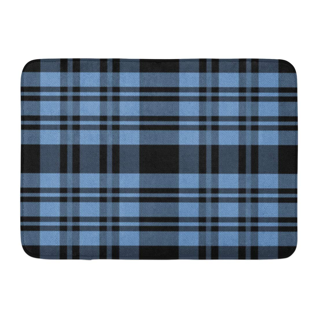 GODPOK White Check Green British Tartan Plaid Pattern