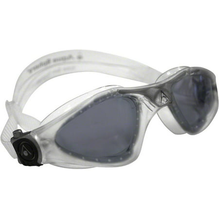 Aqua Sphere Kayenne Goggles: Clear/Silver with Smoke - Aqua Sphere Kayenne Goggles