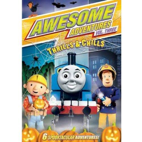 Awesome Adventures: Volume Three - Thrills And Chills, Thomas The Tank / Fireman Sam / Bob The Builder (Full Frame)