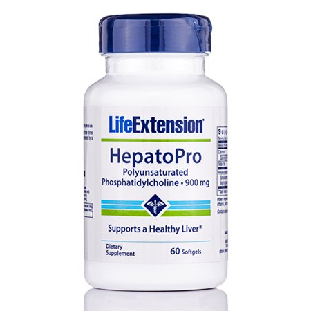 HepatoPro (Polyunsaturated Phosphatidylcholine) 900 mg - 60 Softgels by Life Ext