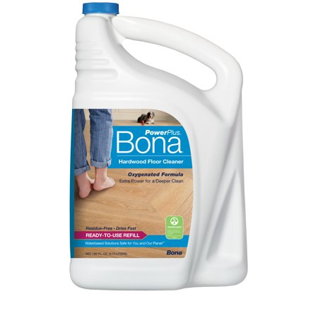 Bona PowerPlus® Hardwood Floor Cleaner Refill 160oz