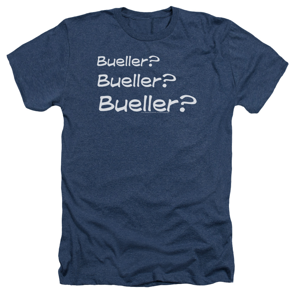 Ferris Bueller's Day Off Bueller? Mens Heather Shirt