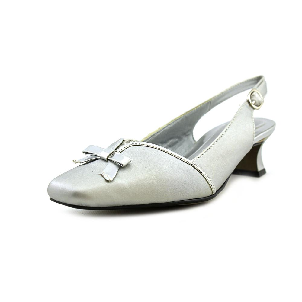 Easy Street Incredible Women WW Square Toe Synthetic Slingback Heel by Easy Street